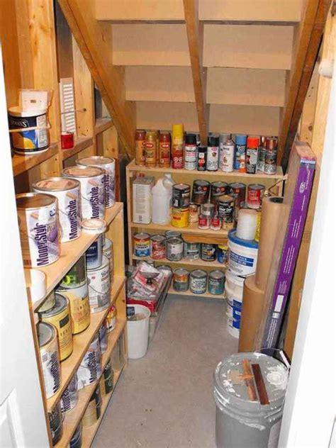 Basement Pantry Ideas Organizing The Stairs Organise My Basement