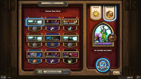 hearthstone no combo r druid legendary rank deck guidescroll