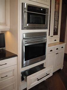 Double oven and warming drawer