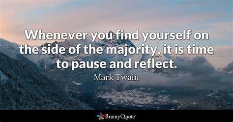 find    side   majority