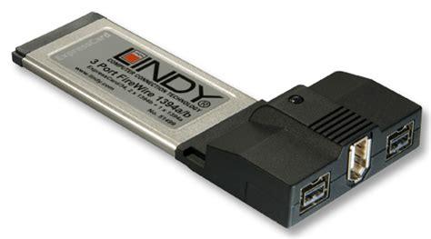 Ingresso Firewire Lindy 51499 Expresscard Firewire 2 Porte 1394b E 1 Porta