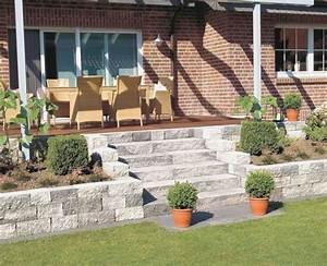 Terrasse Am Hang : terrasse garten gestalten ~ Lizthompson.info Haus und Dekorationen