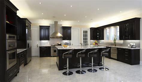 20 Beautiful Kitchens with Dark Kitchen Cabinets