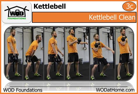 clean kettlebell quickie wod kettle bell