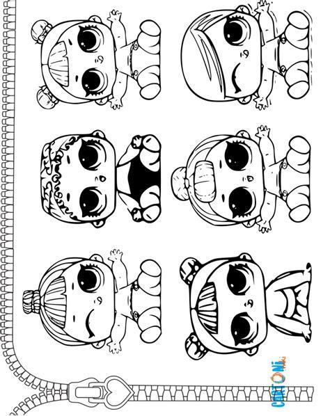 immagini da colorare lil da colorare cartoni animati