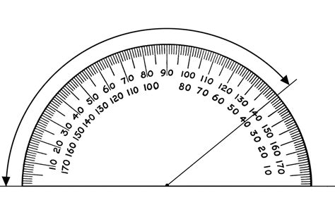 Protractor, 140 Degrees  Clipart Etc