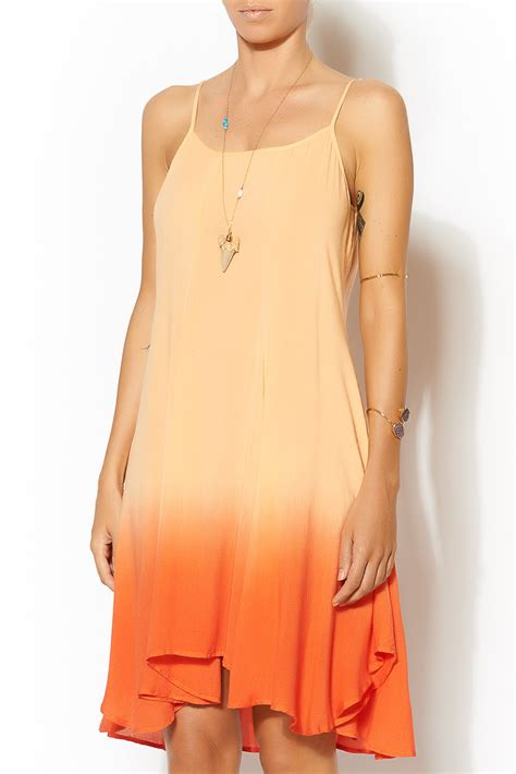 Blu Pepper Dip Dyed Dress From Tennessee By Redefined