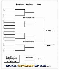 Download 16 Team Double Elimination Bracket | Gantt Chart ...