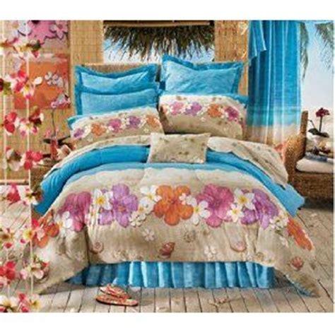 26913 lovely hawaiian themed bedding hawaiian hibiscus comforter set 4 bedding