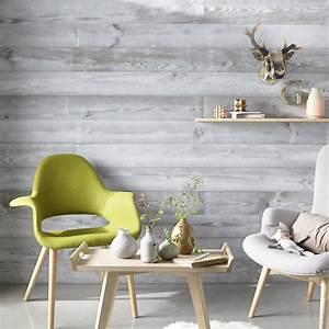 lambris pin brut de sciage gris l240 x l147 cm ep15 With conseil pour peindre un mur 7 installer un eclairage en corniche