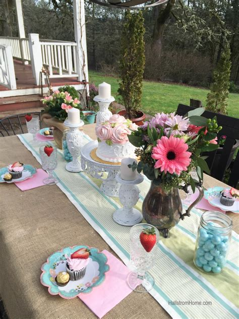 creative brunch ideas creative outdoor dining easter brunch ideas hallstrom home