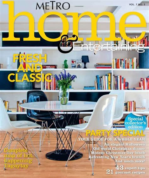 Home Design Magazine Ireland by Accessories The Favorable Metro Fresh And Classic