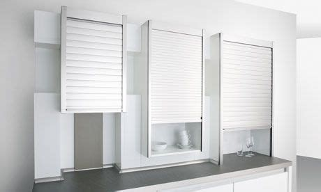 Roller Shutters For Cupboards by Space Solves Search For A Kitchen Cupboard With A Rolling