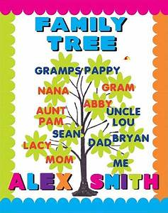 Family Tree Poster Project Make A Family Tree Poster School Poster Project