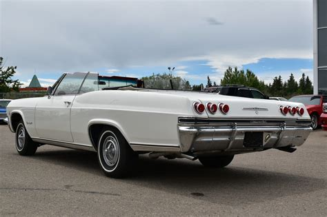 Chevrolet Ss For Sale by 1965 Chevrolet Impala Convertible Ss For Sale 82174 Mcg