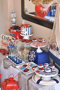 nautical theme decor {Party} Nautical Lobster Party - Creative Juice