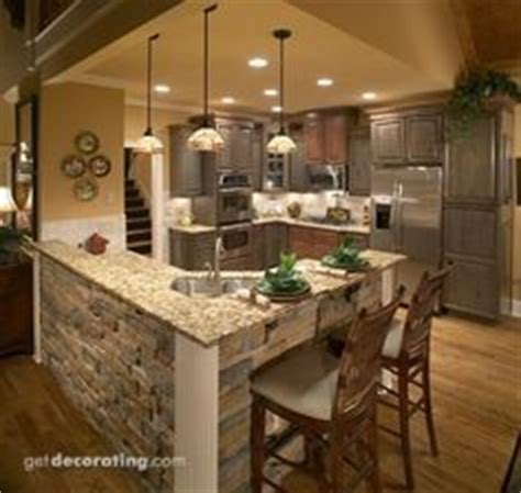 1000  images about L shaped kitchen island on Pinterest