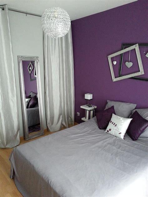 chambre bleu violet deco chambre fille prune gris paihhi com