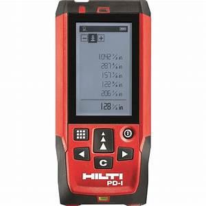 Hilti PD-E Laser Range Meter-2062051 - The Home Depot