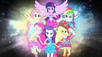 Mane Six Eqg Pony Equestria Deviantart Mlp