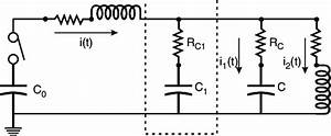 Basic Circuit Of A Capacitor Bank  L  C  R And R C