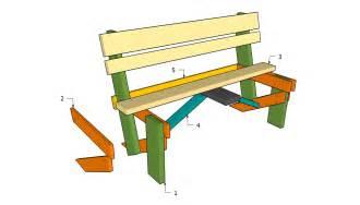 Simple Garden Work Bench Plan Furnitureplan Front Porch Bench Designs