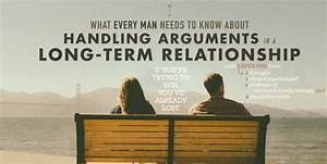 Arguments In A Relationship  How To Handle Them