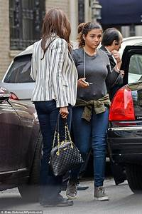 Iman and daughter Alexandria (age 15) in May 2016. David ...