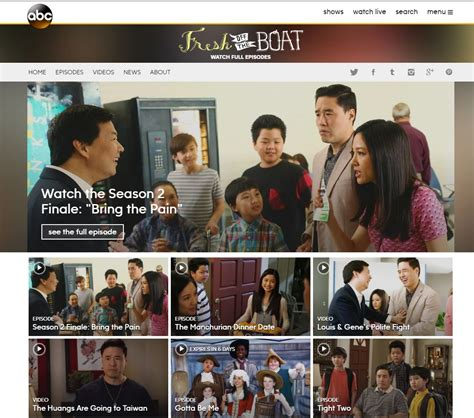 How To Watch Fresh Off The Boat On Netflix by Streaming Fresh Off The Boat Online For Free