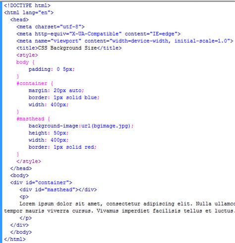 Css Background Image Size Css Background Size Property Learn Web Tutorials
