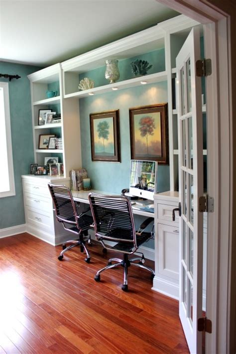 built in desk ideas for home office picture of beach inspired home office designs
