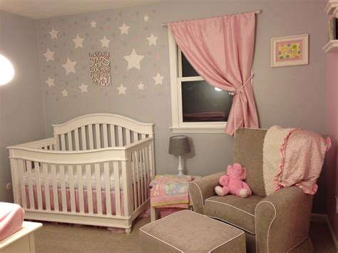 Pink And Grey Starry Nursery  Project Nursery