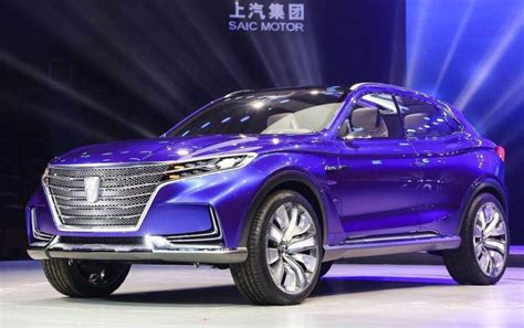 Name Wars: Roewe Launches The Vision-E Concept In China ...