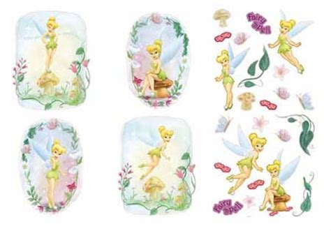 Disney Tinkerbell Self Stick Wallie Applique Tink Wall