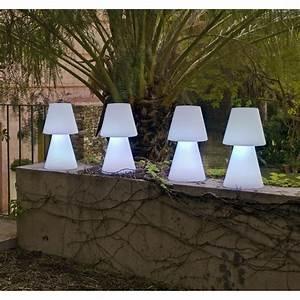 Lampe De Table Exterieur : lampe de table ext rieure lola 45 cm e27 25 w 880 lm ~ Teatrodelosmanantiales.com Idées de Décoration