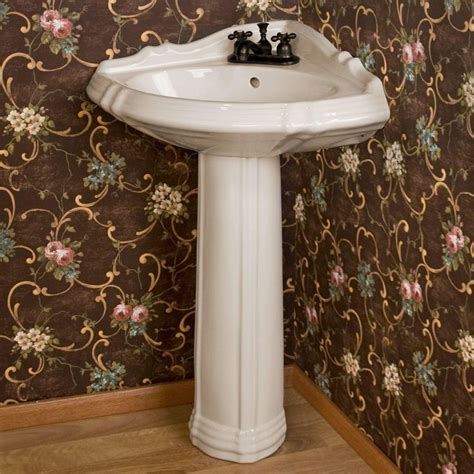 Gerbera Corner Pedestal Sink by 1000 Ideas About Corner Sink Bathroom On
