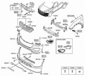 2015 Hyundai Santa Fe Engine Diagram : 86565 b8100 genuine hyundai skid plate front bumper ~ A.2002-acura-tl-radio.info Haus und Dekorationen