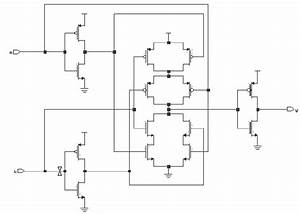 Cmos Xor Gate Circuit Diagram