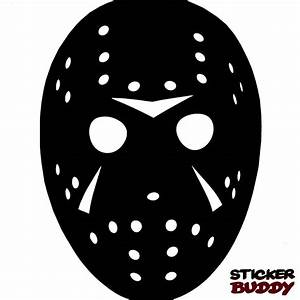 Jason Voorhees Sticker Halloween Horror Vinyl Decal Friday