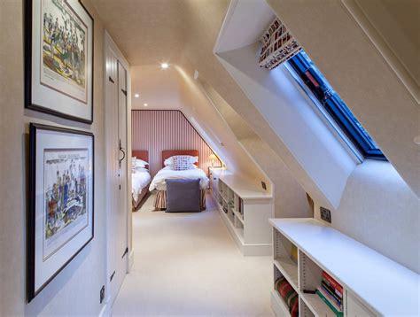 loft style bedroom design at the attic small design ideas