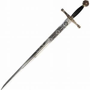 Bronze Hilt Excalibur Sword - SG201 by Zombies Playground
