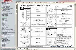 Toyota Previa    Tarago Workshop Service Repair Manual