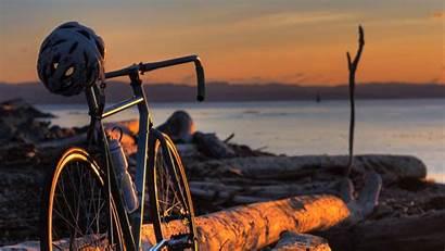 Bicycle Sunset Wallpapers Background Bike Desktop Resolution