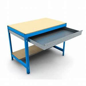 Etabli D Atelier : etabli d 39 atelier 2 niveaux avec tiroir etablis acier ~ Edinachiropracticcenter.com Idées de Décoration