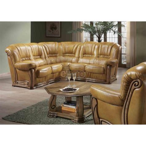 canapé d 39 angle canapé cuir rustique indémodable et pas cher