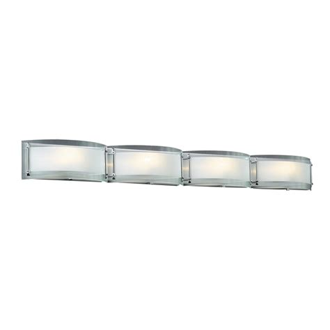 4 bulb vanity light shop plc lighting 4 light millennium polished chrome