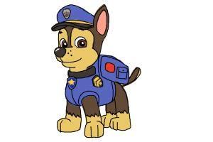 draw chase  paw patrol drawingnow