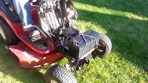 Toro Lx425 Lawn Tractor - Electric Conversion