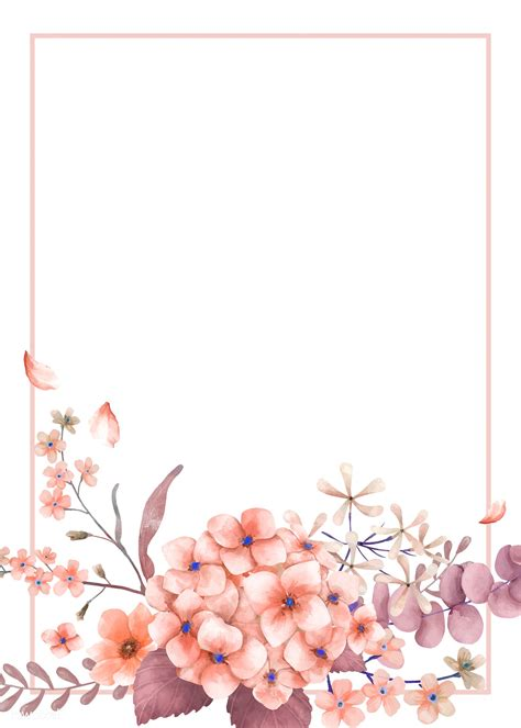 card  pink  floral theme royalty