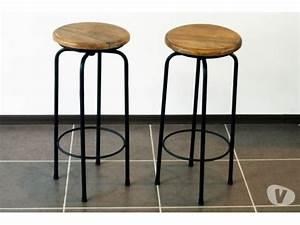 Tabouret Industriel Pas Cher : tabouret industriel valence 26000 meubles pas cher d 39 occasion vivastreet ~ Teatrodelosmanantiales.com Idées de Décoration